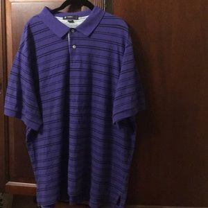Men's purple Cremieux polo 2x new w tags